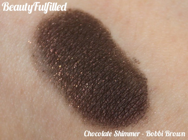 12 Favourite Beauty Products of 2012 - Bobbi Brown Chocolate Shimmer Gel Eyeliner Swatch