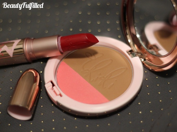 Haul - Riri Loves MAC Fall 2013 Collection Hibiscus Kiss Swatch Riri Woo Swatch 02