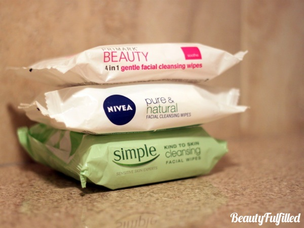 Skincare - Best Face Wipes Best Cleansing Wipes (Primark, Nivea, Simple)